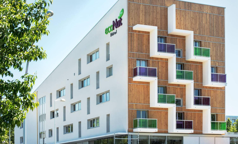 Hotel Eco nuit situé à Saint Nazaire