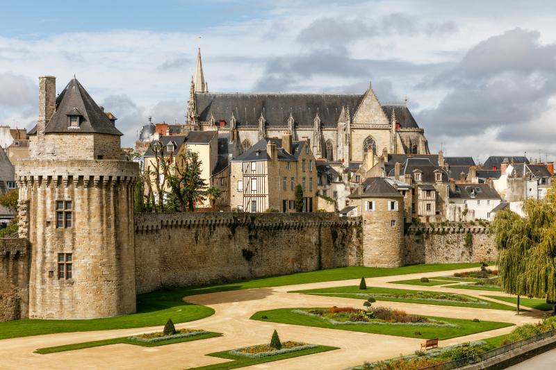 La cité médiévale de Guérande.